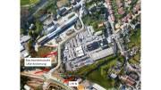 Hier ein Planmodell der Stadt Sprockhövel über eine mögliche Anbindung der Gewerbebetriebe von der L70 n (Foto: Stadt Sprockhövel, Collage: Höffken)