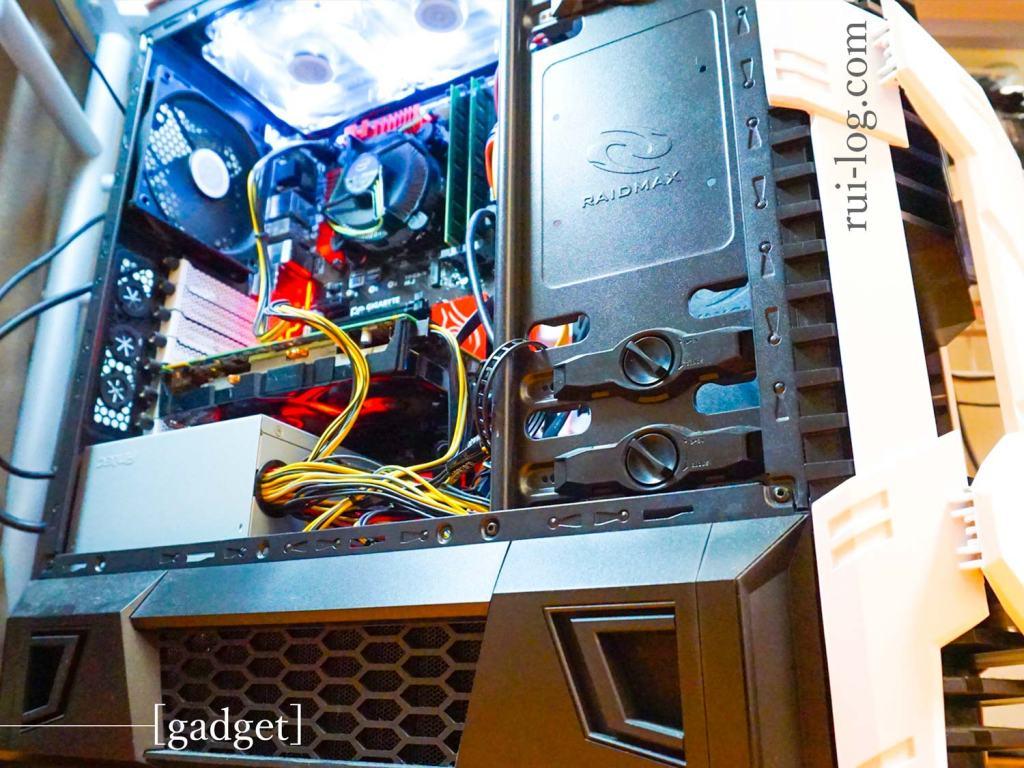 自作PCのWindows機を紹介