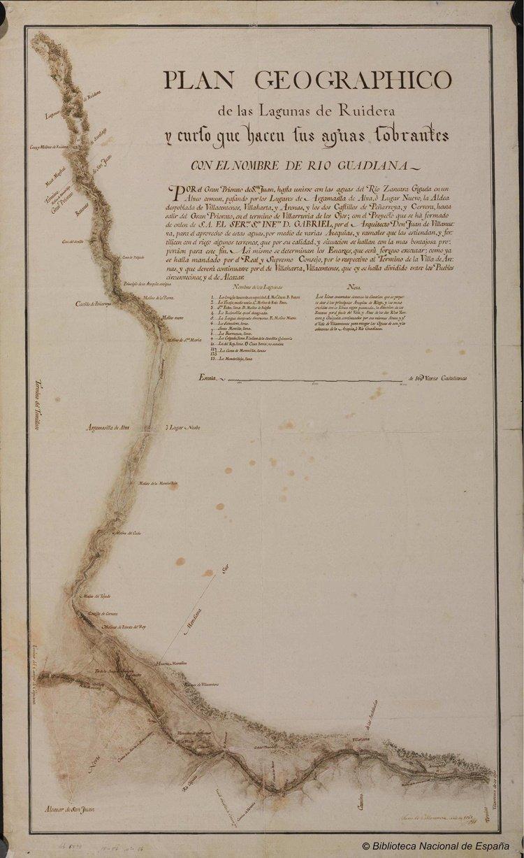 """Resultado de imagen de Plano del Canal del Gran Prior  _Villanueva"""""""
