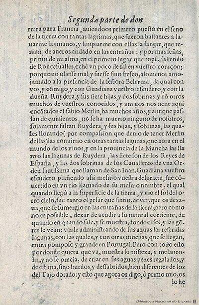 Devoción a don Miguel de Cervantes y su Quijote