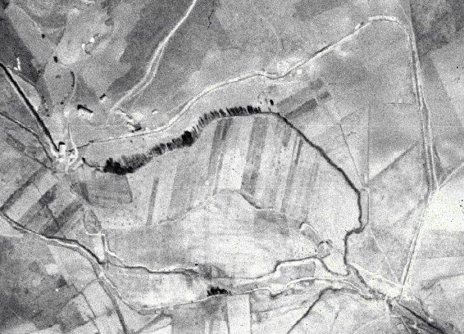 El canal de El Ossero en los años 1945-46
