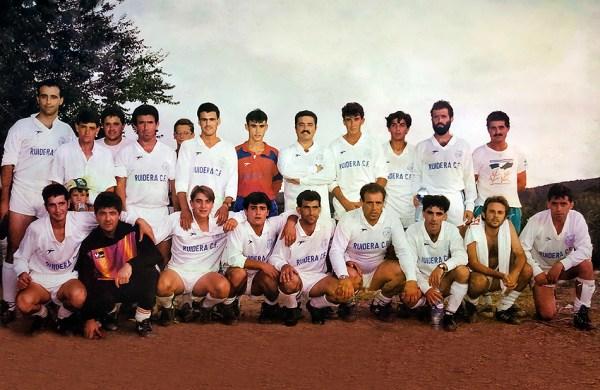 Plantilla del Ruidera de la temporada 1990/91