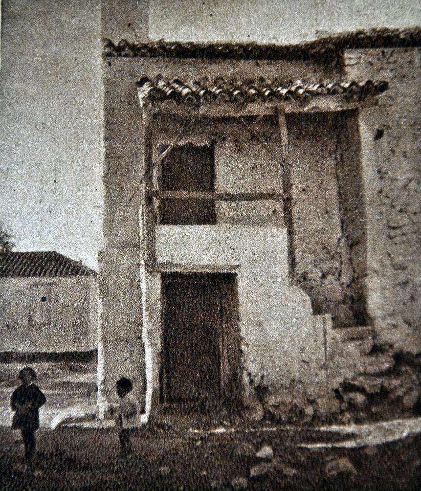 Casa del ermitaño de la ermita de San Pedro de Sahelices en Ossa de Montiel