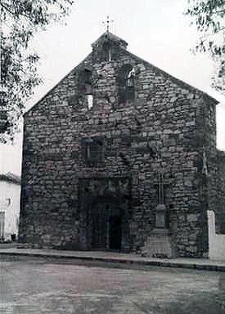 Iglesia de Santa María Magdalena de Ossa de Montiel. Años 50 del siglo XX.