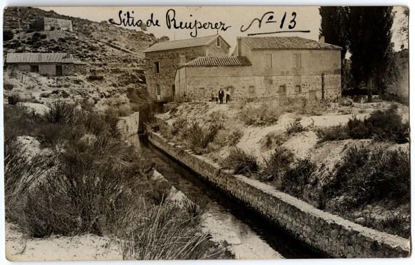 Central hidroeléctrica de Ruipérez en 1928