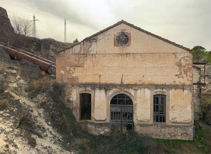 Central hidroeléctrica de San Alberto en  2019