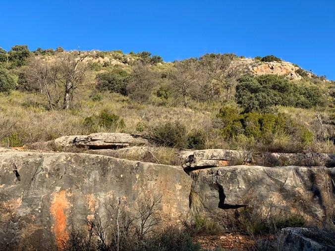 La Loma de los Muertos, donde se desarrolló la Batalla de Ruidera