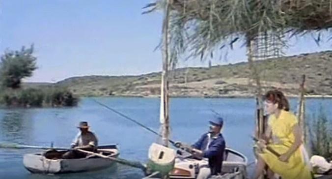 Rocío Durcal en las Lagunas de Ruidera
