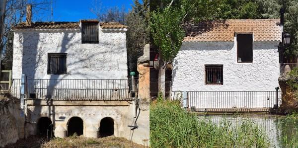 Casa de compuertas de la central hidroeléctrica de Santa Elena