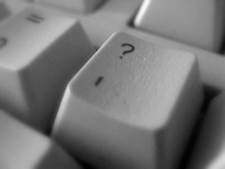 Question keyboard key