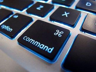 Command keyboard key