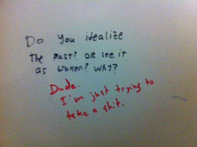 Bathroom Stall Humor Is There To Entertain If You Ever Forget Your Phone