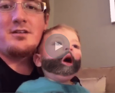 Heres What Happens If Your Baby Sneezes While Using The Snapchat Beard Filter