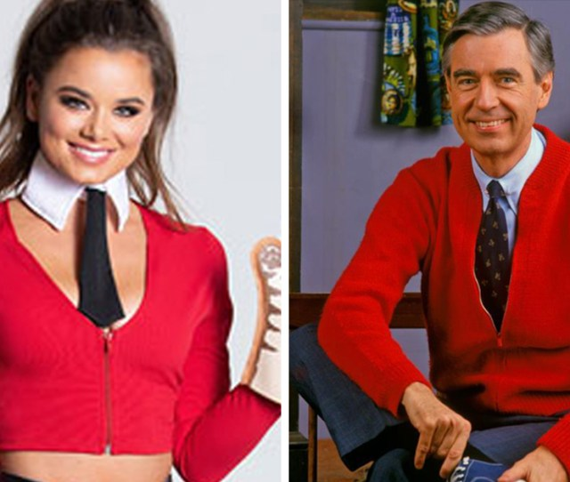 Heres The Sexy Mr Rogers Costume Literally No One Asked For