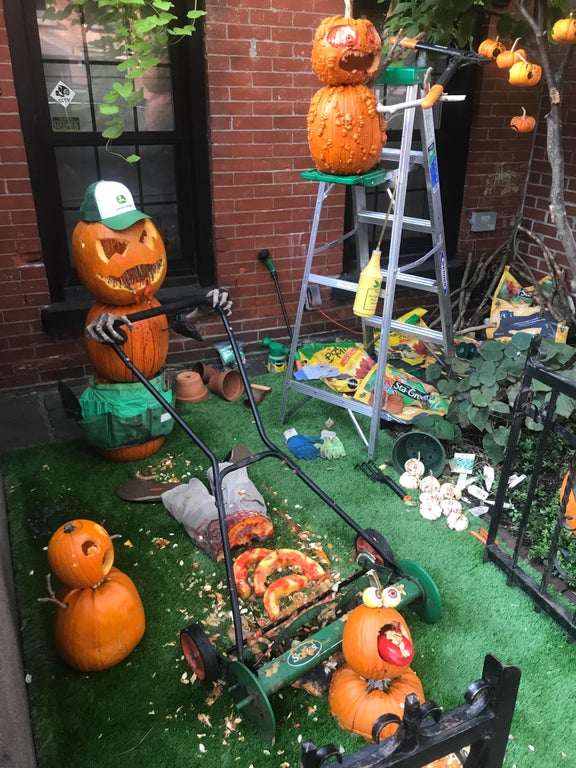 30 Next Level Scary Halloween Decorations That Freaked