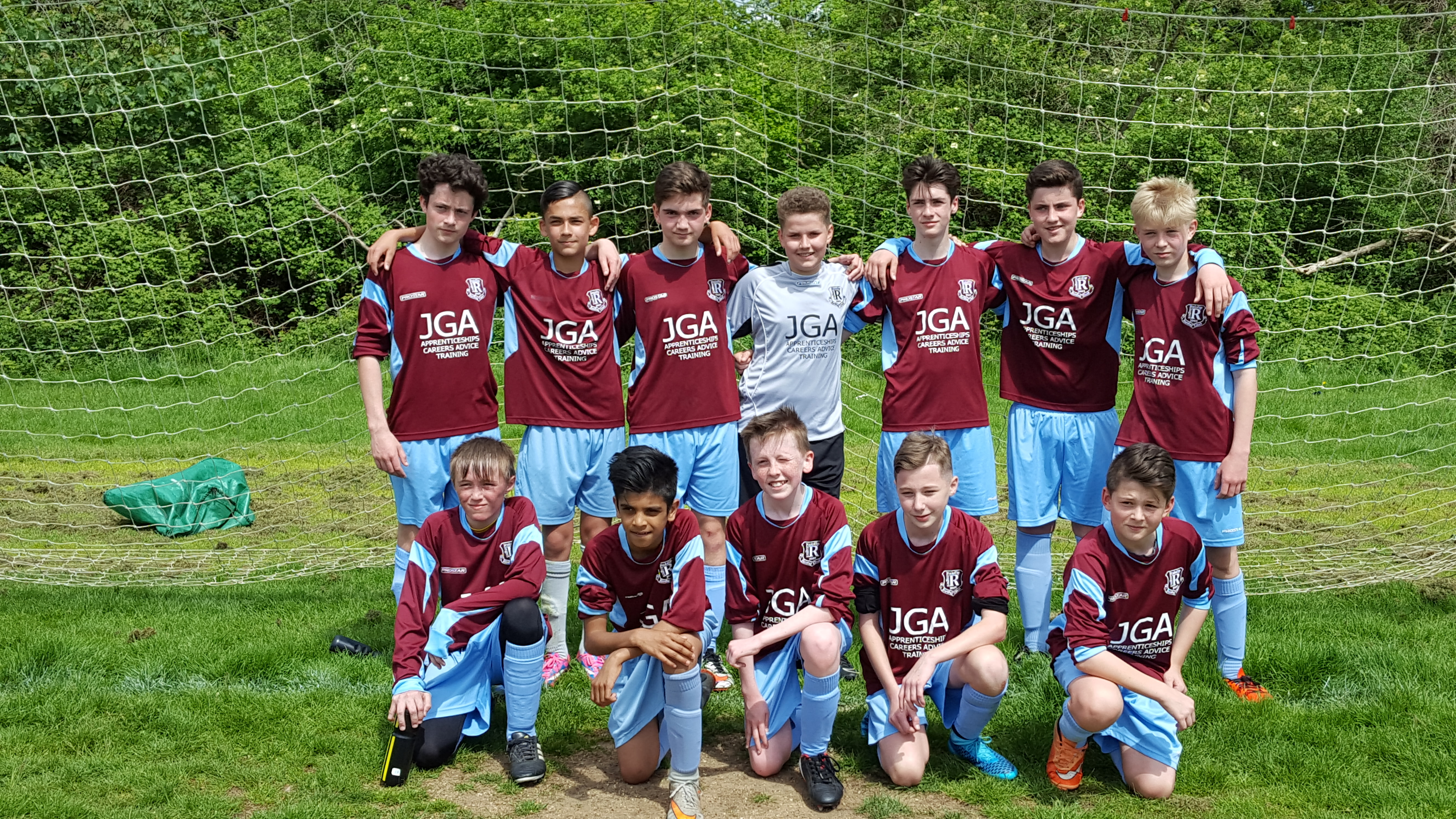 Congratulations to our Under 14 Colts team on winning promotion