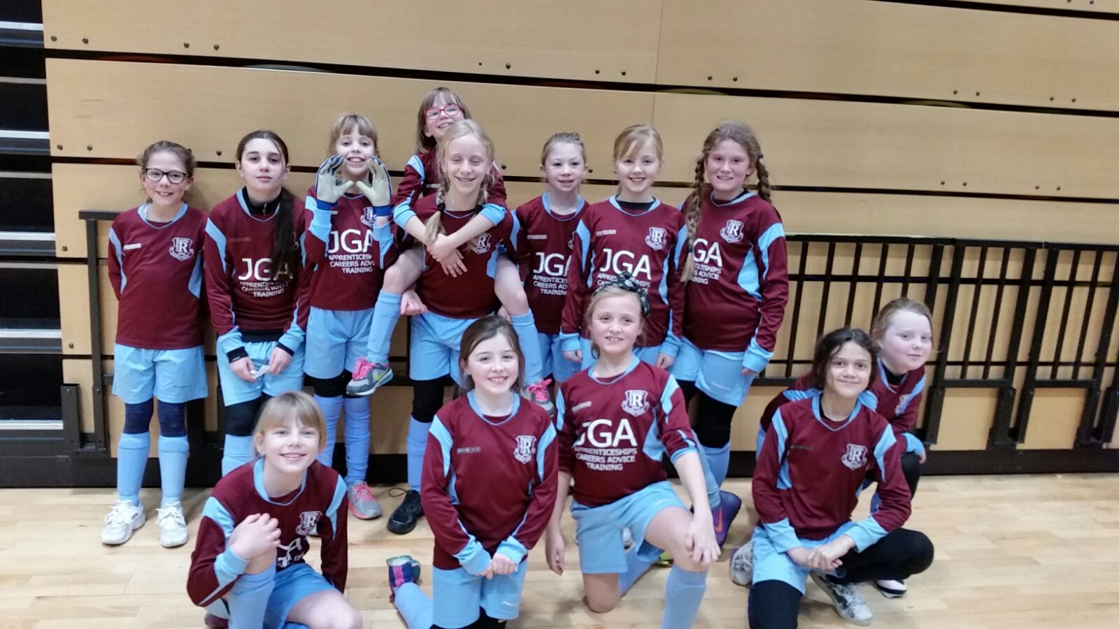 Our two Under 10 Girls teams are to meet in the League Cup Final