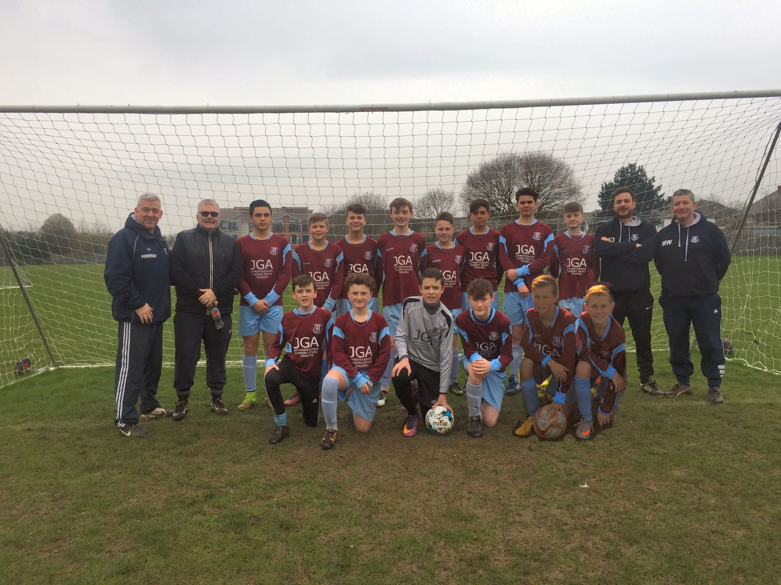 The story of the route our Under 14As team took to reach this Sunday's County Cup Final