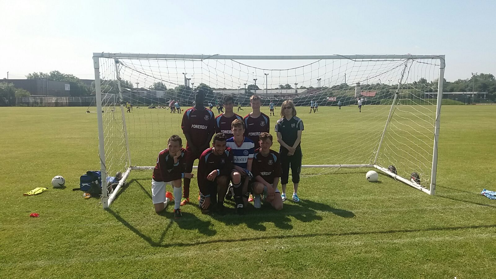 Our Disability team played their first-ever game today versus St Albans Deaf