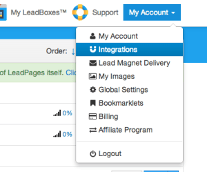 Leadpages Infusionsoft Integration