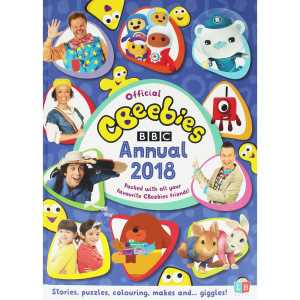 22 Cbeebies Annual 2018