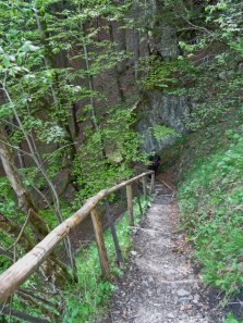 Alpspitze Abstieg
