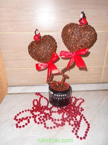 дерево из кофе2