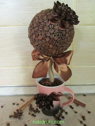 дерево из кофе№