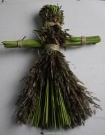 Лялька мотанка з трави