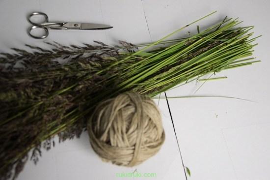 Кукла мотанка из травы