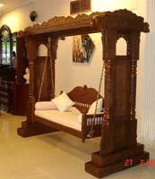 Code 95 Buy Carved Indian Maharaja Wooden Swings Wooden