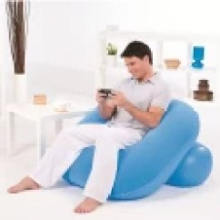 Beanless Sofa Air Chair Ashley Furniture Covers Global Gifts Medium Inflatable Nest ...