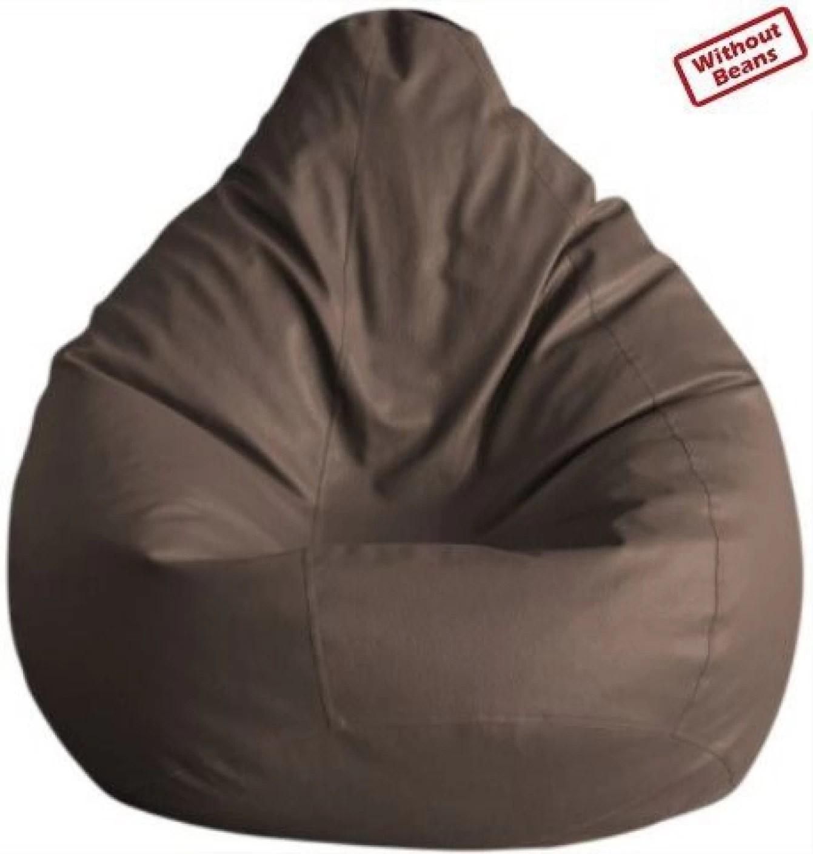 bean bag sofas india sofa set promotion malaysia fab homez xxxl teardrop cover without beans