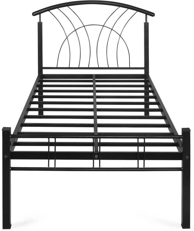 steel chair flipkart keter baby high reviews nilkamal lucas metal single bed price in india buy