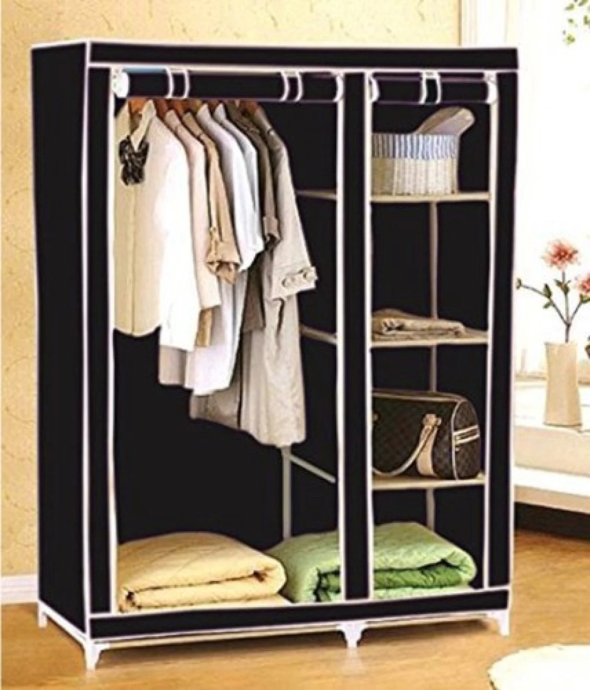steel chair flipkart dining cushions ei carbon collapsible wardrobe price in india buy