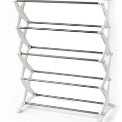 Hanging Chair Flipkart My Event Covers Online World Stainless Steel Collapsible Shoe Stand Price