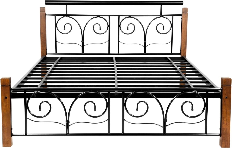 steel chair flipkart costco dining covers furniturekraft chicago metal queen bed price in india