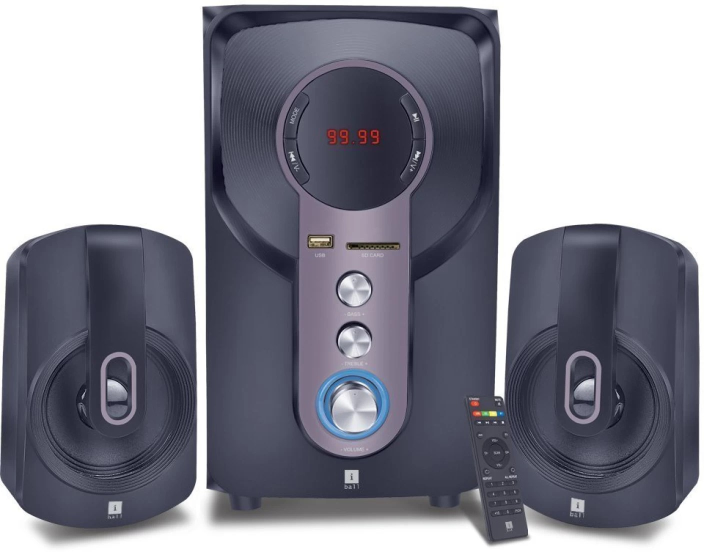 Iball -bass 2.1 Home Cinema In India