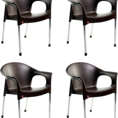 Steel Chair Flipkart Hang Around Pottery Barn Cello Furniture Plastic Cafeteria Price In India