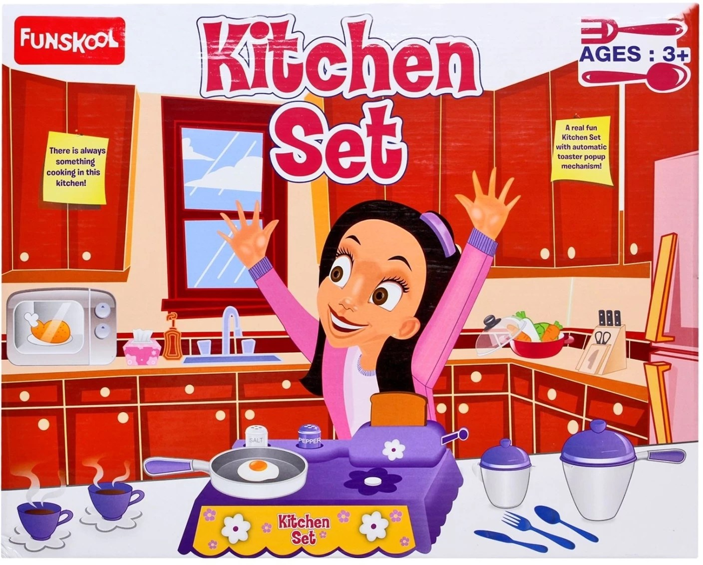 Funskool Kitchen Set Kitchen Set Buy Kitchen Toys In