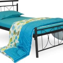 Steel Chair Flipkart Ikea Sheepskin Covers Furniturekraft Perth Metal Single Bed Price In India Buy