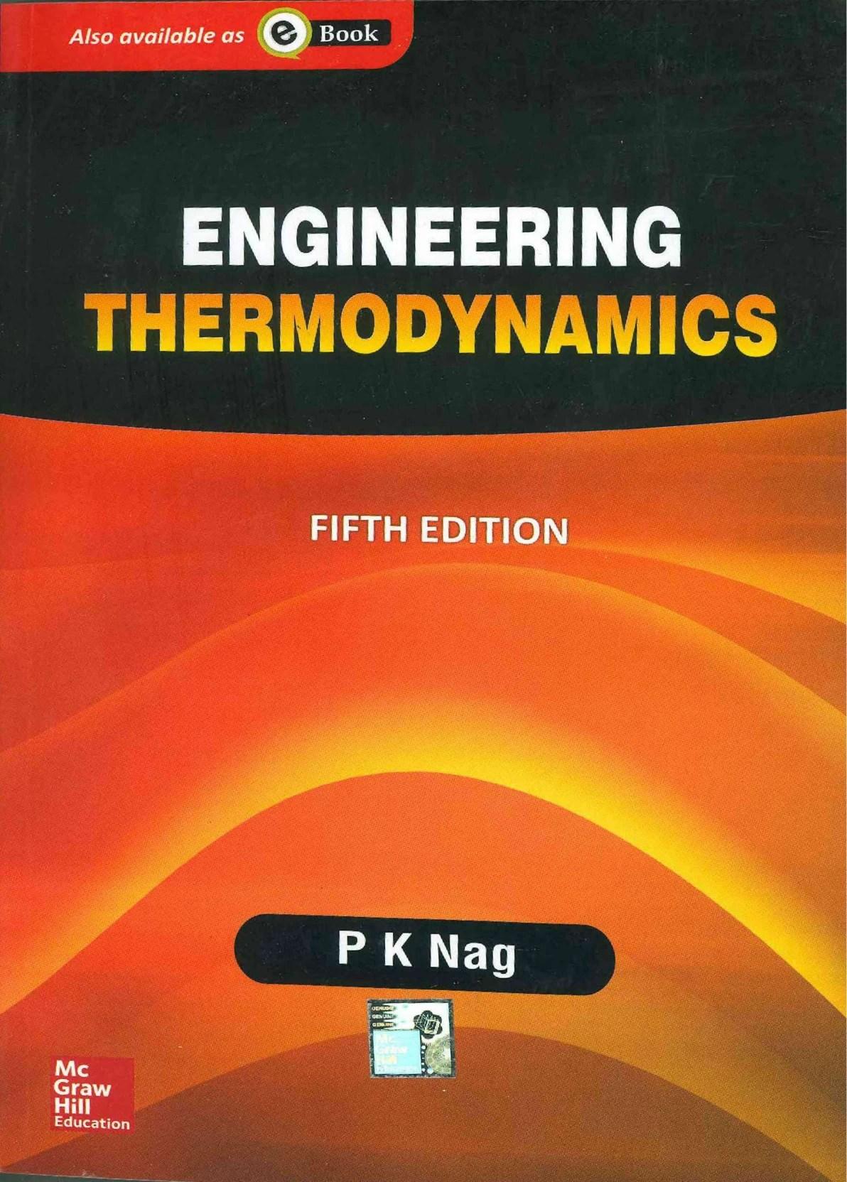 Engineering Thermodynamics Book