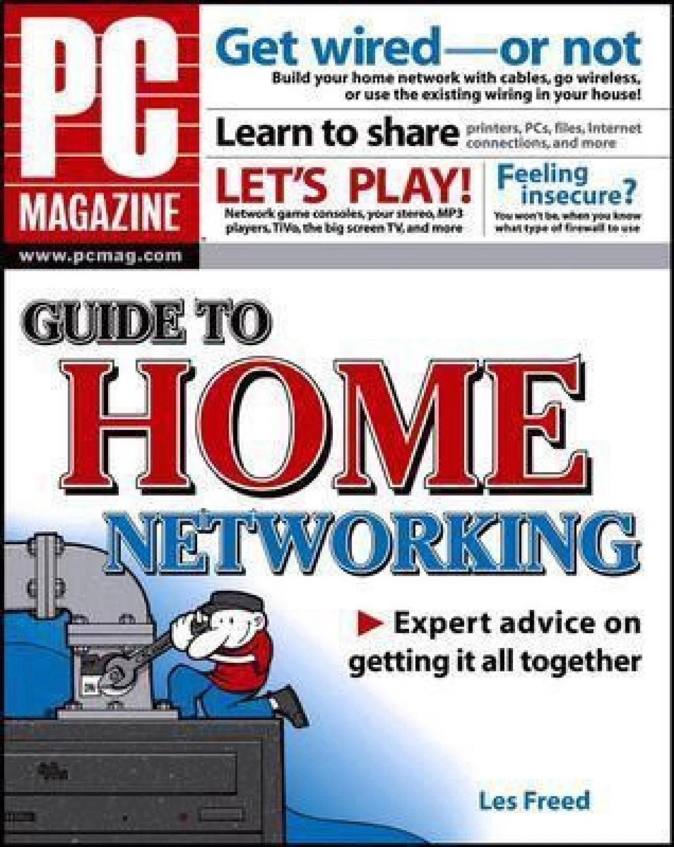 pc magazine guide to home networking english paperback les freed  [ 1323 x 1664 Pixel ]