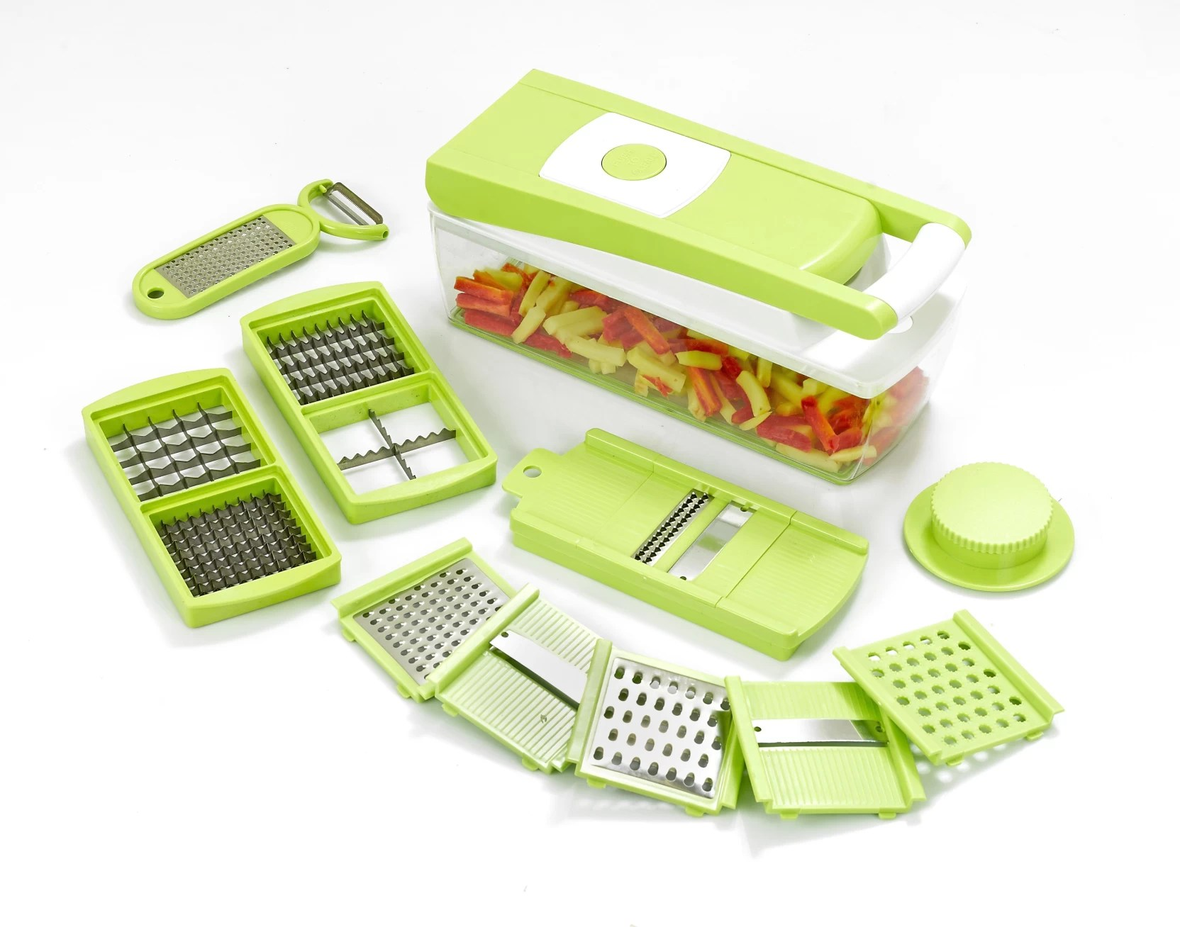 kitchen dicer slicer cabinet sets for sale ganesh 14 in one quick chopper price india buy