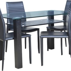 Steel Chair Flipkart Safety 1st Potty Hometown Presto Glass 4 Seater Dining Set Price In India