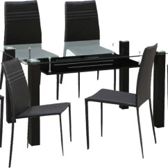 Steel Chair Flipkart Hickory Hometown Presto Glass 6 Seater Dining Set Price In India