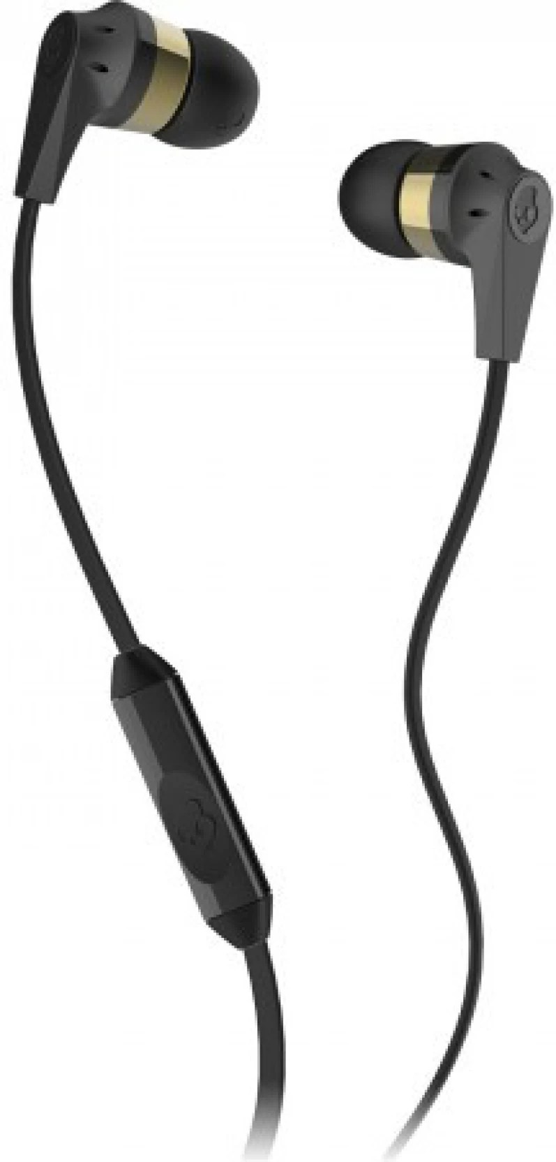 skullcandy s2ikdy 144 wired headset with mic gold black in the ear  [ 797 x 1664 Pixel ]