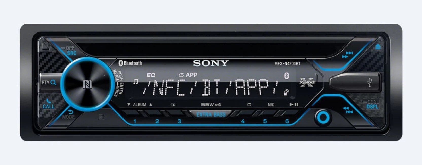 medium resolution of sony mex n4200bt car stereo price in india buy sony mex n4200bt add to cart