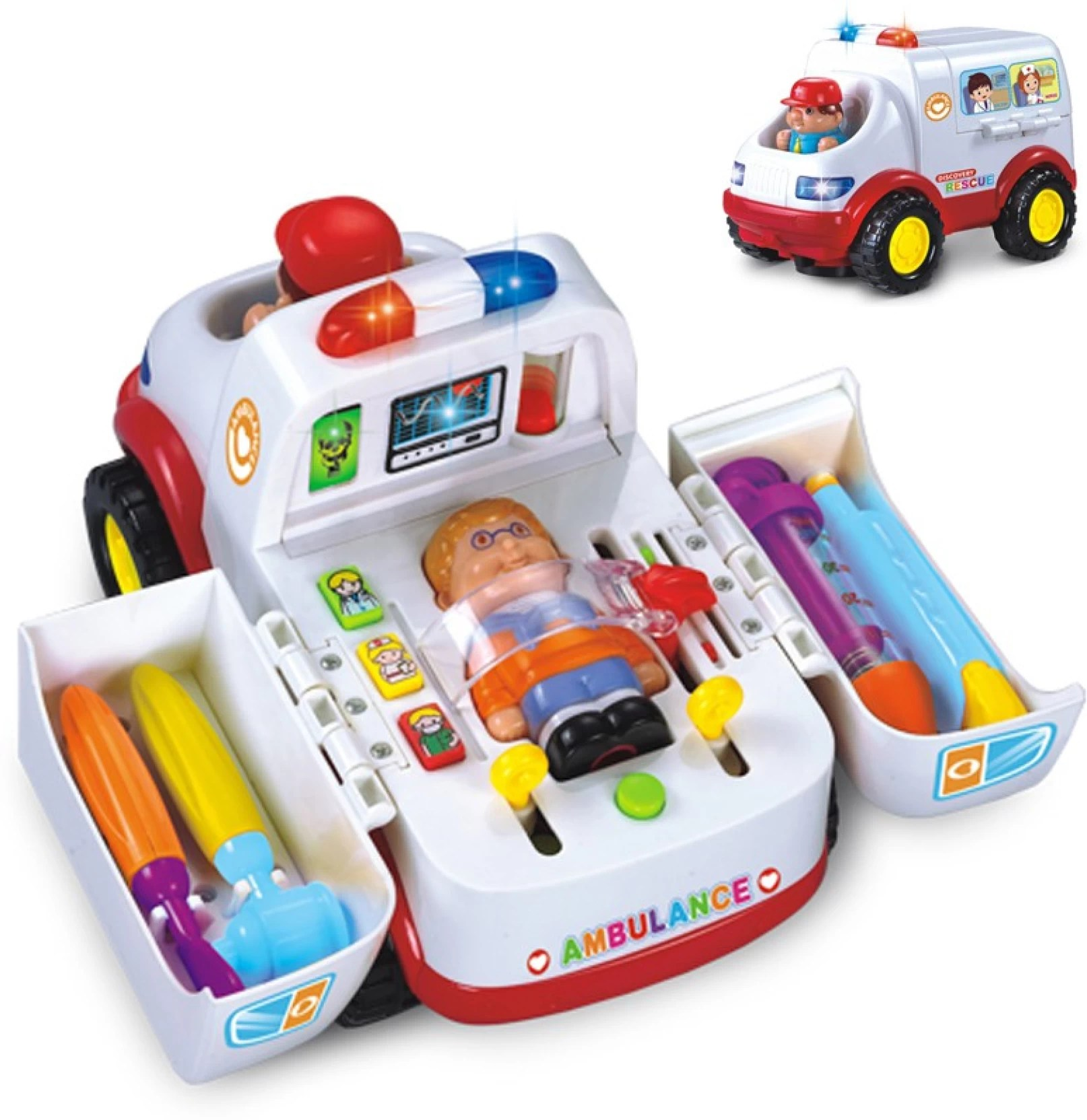 Kidsyantra Kids Doctors Kit With Ambulance Lights And