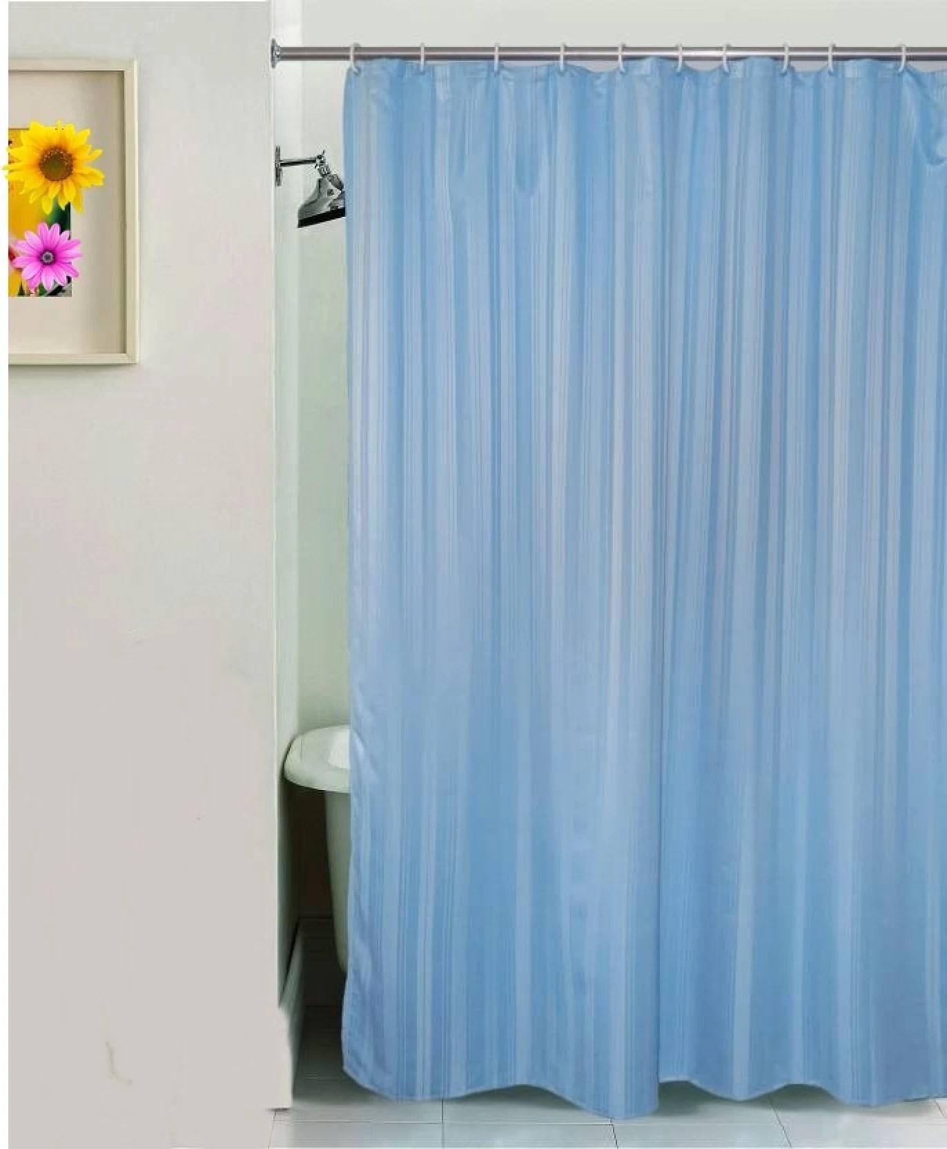Yellow Weaves 213 Cm 7 Ft Pvc Shower Curtain Single Curtain